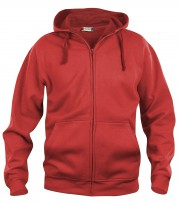 BASIC HOODY FULL ZIP