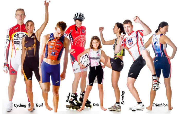 M9 Cyclisme, Triathlon, Roller, Running